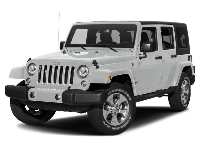 Jeep Wrangler Jk >> 2018 Jeep Wrangler Jk Unlimited Sahara Used
